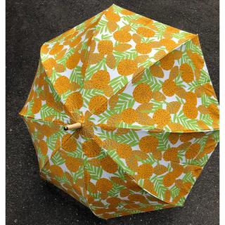 イセタン(伊勢丹)の最終値下げ コッカ cocca 折りたたみ雨傘 オレンジ(傘)