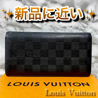 LOUIS VUITTON - ‼️限界価格‼️ Louis Vuitton ダミエ サイフ 財布 長財布