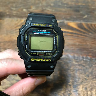 カシオ(CASIO)の【ジャンク品】CASIO G-SHOCK DW-5600E ST(腕時計(デジタル))