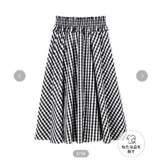 PROPORTION BODY DRESSING - プロポーションボディドレッシング ギンガム チェック スカート