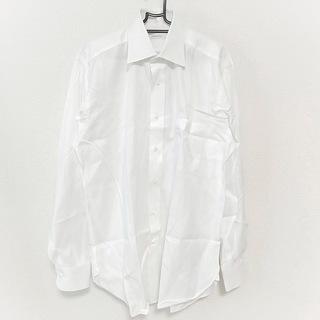 エルメネジルドゼニア(Ermenegildo Zegna)のゼニア 長袖シャツ サイズ42 L メンズ美品 (シャツ)