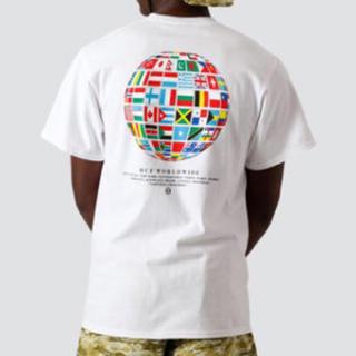 ハフ(HUF)のHUF GLOBAL WAVE Tシャツ ホワイト Mサイズ 新品(Tシャツ/カットソー(半袖/袖なし))