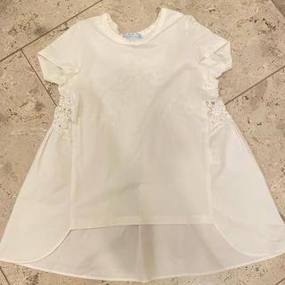 ドゥロワー(Drawer)のヨーコチャン REYC レースTシャツ(Tシャツ(半袖/袖なし))