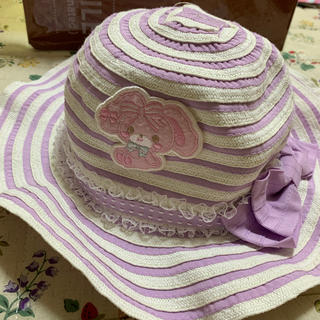 サンリオ(サンリオ)のサンリオ 夏用帽子 54センチ(名前入り)(帽子)