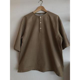 コモリ(COMOLI)のオーラリー AURALEE  STAND UP HENLEY TEE  (Tシャツ/カットソー(半袖/袖なし))