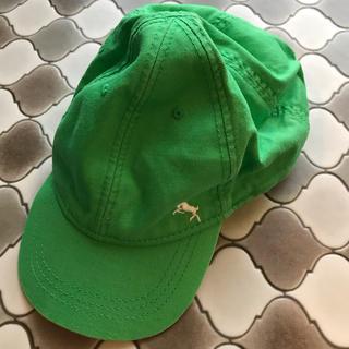 エイチアンドエム(H&M)のベビー キャップ 帽子 H&M グリーン 50cm(帽子)
