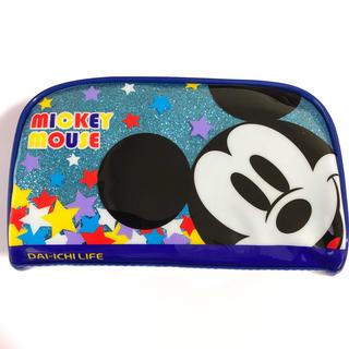 ディズニー(Disney)の【新品】ミッキー&ミニー エナメルポーチ(ポーチ)