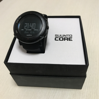スント(SUUNTO)のスントコア ディープブラック(腕時計(デジタル))