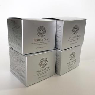 パーフェクトワン(PERFECT ONE)のパーフェクトワン 薬用 ホワイトニングジェル 4個セット(オールインワン化粧品)