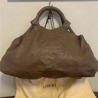 ロエベ(LOEWE)の美品 LOEWE 約17万 ナッパレザーバッグ(ハンドバッグ)