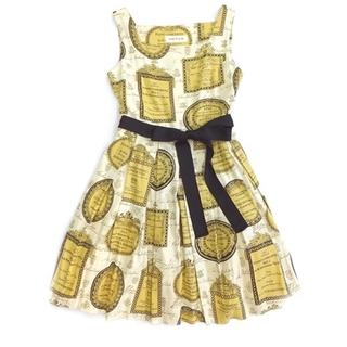 JaneMarple - ジェーンマープル コンチェルトカルテのドレス アイボリー