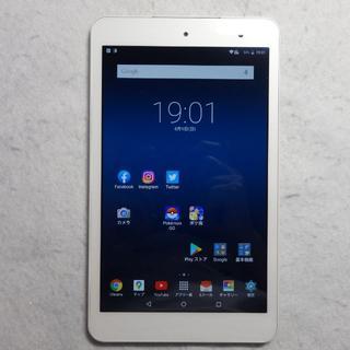 キョウセラ(京セラ)のQua tab 01 au◆8型Androidタブレット(タブレット)