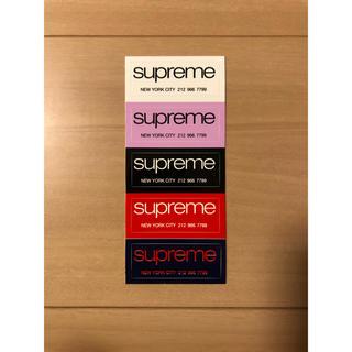 シュプリーム(Supreme)のシュプリーム ステッカー Shop tee(その他)