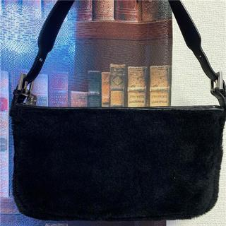 ロエベ(LOEWE)の美品 LOEWE 約12万 ブラックバッグ(ハンドバッグ)