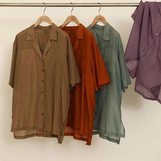 トゥデイフル(TODAYFUL)のSilk Boyfriend Shirts(シャツ/ブラウス(長袖/七分))
