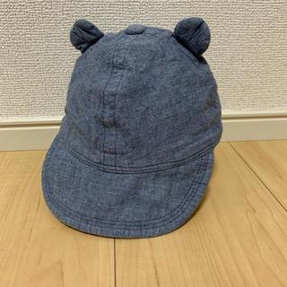 ベビーギャップ(babyGAP)のGAP baby クマ耳デニムキャップ(帽子)