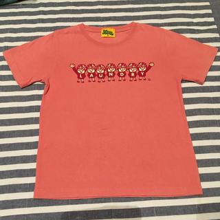 ランドリー(LAUNDRY)の☆Laundry かわいいピンクのTシャツ☆130cm(Tシャツ/カットソー)