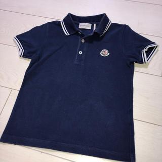 モンクレール(MONCLER)のモンクレール   ポロシャツ 110センチ(Tシャツ/カットソー)