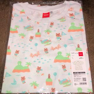 ニンテンドウ(任天堂)のNintendo TOKYO限定 あつまれ どうぶつの森 TシャツB Lサイズ(Tシャツ/カットソー(半袖/袖なし))