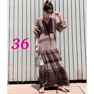 L'Appartement DEUXIEME CLASSE - 新品タグ付き♡BLUE BOHEME Printed Long Dress 36