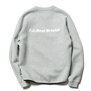 F.C.R.B. - 【F.C.Real Bristol】SWEAT CREWNECK TOP L