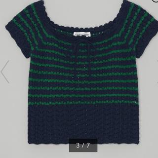 ジーユー(GU)のGU 透かし編みセーターS(ニット/セーター)