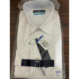 パーソンズ(PERSON'S)のメンズ ワイシャツ 長袖 L 41  82-84白 person's  P101(シャツ)