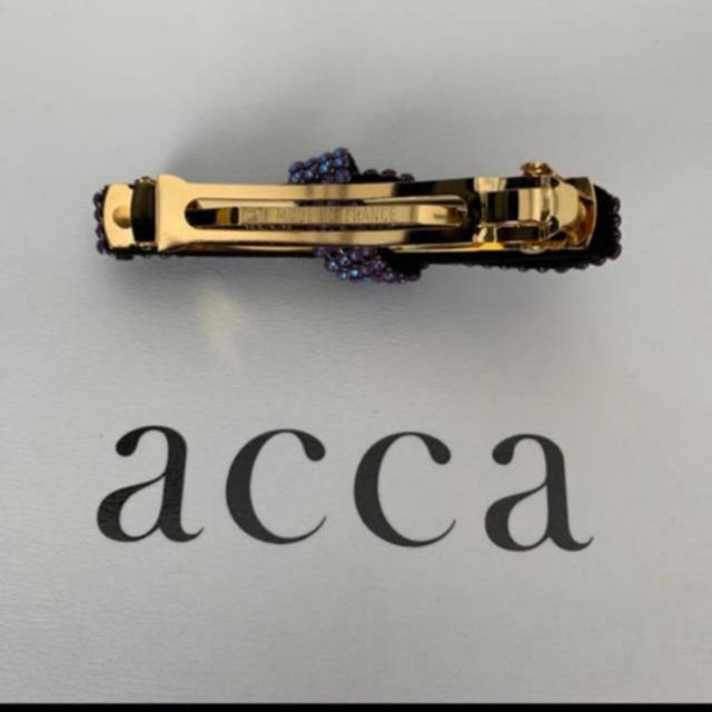 acca(アッカ)のacca オードリー リボンバレッタ レディースのヘアアクセサリー(バレッタ/ヘアクリップ)の商品写真