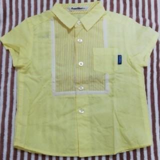 ファミリア(familiar)のfamiliar シャツ サイズ100(ブラウス)