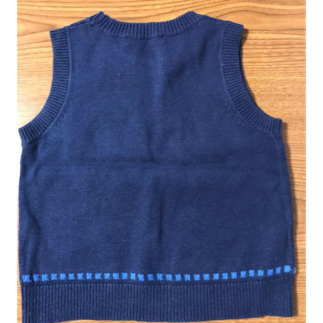 familiar(ファミリア)の子供服 familiar ニットベスト 90 キッズ/ベビー/マタニティのキッズ服男の子用(90cm~)(ニット)の商品写真