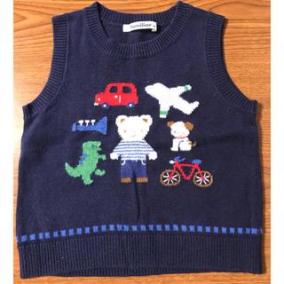ファミリア(familiar)の子供服 familiar ニットベスト 90(ニット)
