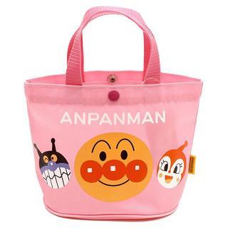 アンパンマン - 新品 アンパンマン ミニトートバッグ ピンク 手提げ バッグ