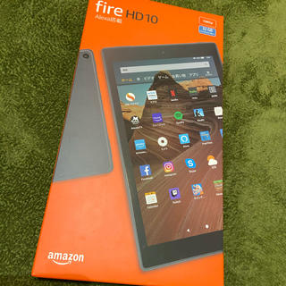 ANDROID - Amazon fire HD10 ブルー 32GB ケース付き