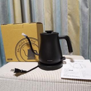 バルミューダ(BALMUDA)のバルミューダ ポット K02A 電気ケトル ブラック(電気ケトル)