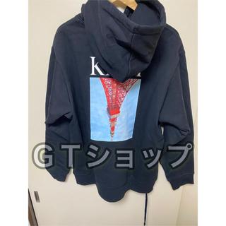 KITH Tokyo タワー パーカー ブラック 黒色 USXL(パーカー)