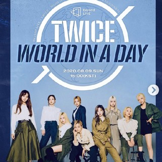 ❤️TWICE❤️Beyond LIVE WORLD IN A DAY DVD (ミュージック)