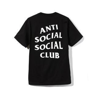 アンチ(ANTI)の新品未使用 Anti Social Club 黒L(Tシャツ/カットソー(半袖/袖なし))