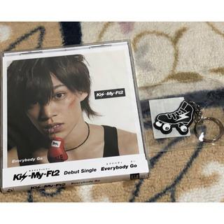 キスマイフットツー(Kis-My-Ft2)のEverybady Go キスマイショップ盤 千賀健永(アイドルグッズ)