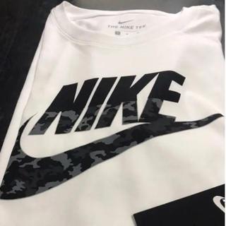 NIKE - 【新品 タグ付き】ナイキ カモロゴ Tシャツ  L