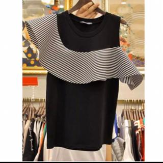 dholic - 韓国ファッション トップス フリル  Tシャツ 新品