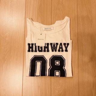 ダズリン(dazzlin)の大セール!dazzlin ロゴTシャツ(Tシャツ(半袖/袖なし))