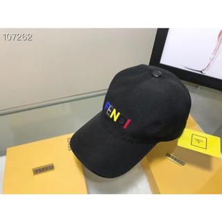 フェンディ(FENDI)のFENDI キャップ 帽子 野球帽子 メンズ レディース(キャップ)