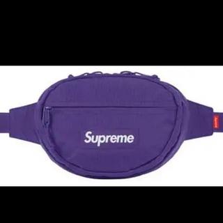 シュプリーム(Supreme)の18aw supreme waist bag purple パープル バッグ(ウエストポーチ)