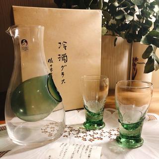 トウヨウササキガラス(東洋佐々木ガラス)の佐々木硝子 冷酒グラスセット(アルコールグッズ)