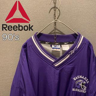 リーボック(Reebok)の【ナイロンジャケット】リーボック ビックサイズ 古着 スポーツミックス 90's(ナイロンジャケット)