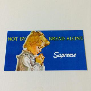 シュプリーム(Supreme)の新品supreme NOT BY BREAD ALONE ステッカー正規品 (その他)