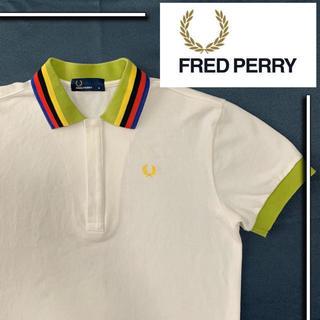 フレッドペリー(FRED PERRY)の美品 fred perry s/s ポロシャツ サマーカラー(ポロシャツ)