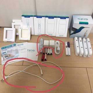 アイコス(IQOS)のiQOS☆USB変換機、ケーブル、綿棒(タバコグッズ)