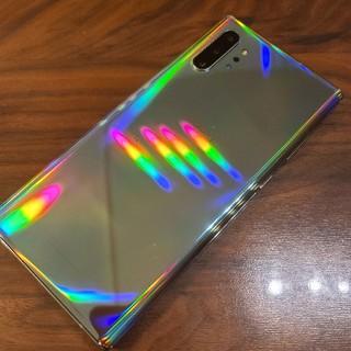 サムスン(SAMSUNG)の超美品 simフリーSCV45 au版 galaxy note10+ 本体(スマートフォン本体)