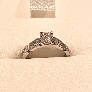 シャネル(CHANEL)のCHANEL プルミエール プロメス ダイヤモンド0.4カラットエンゲージリング(リング(指輪))